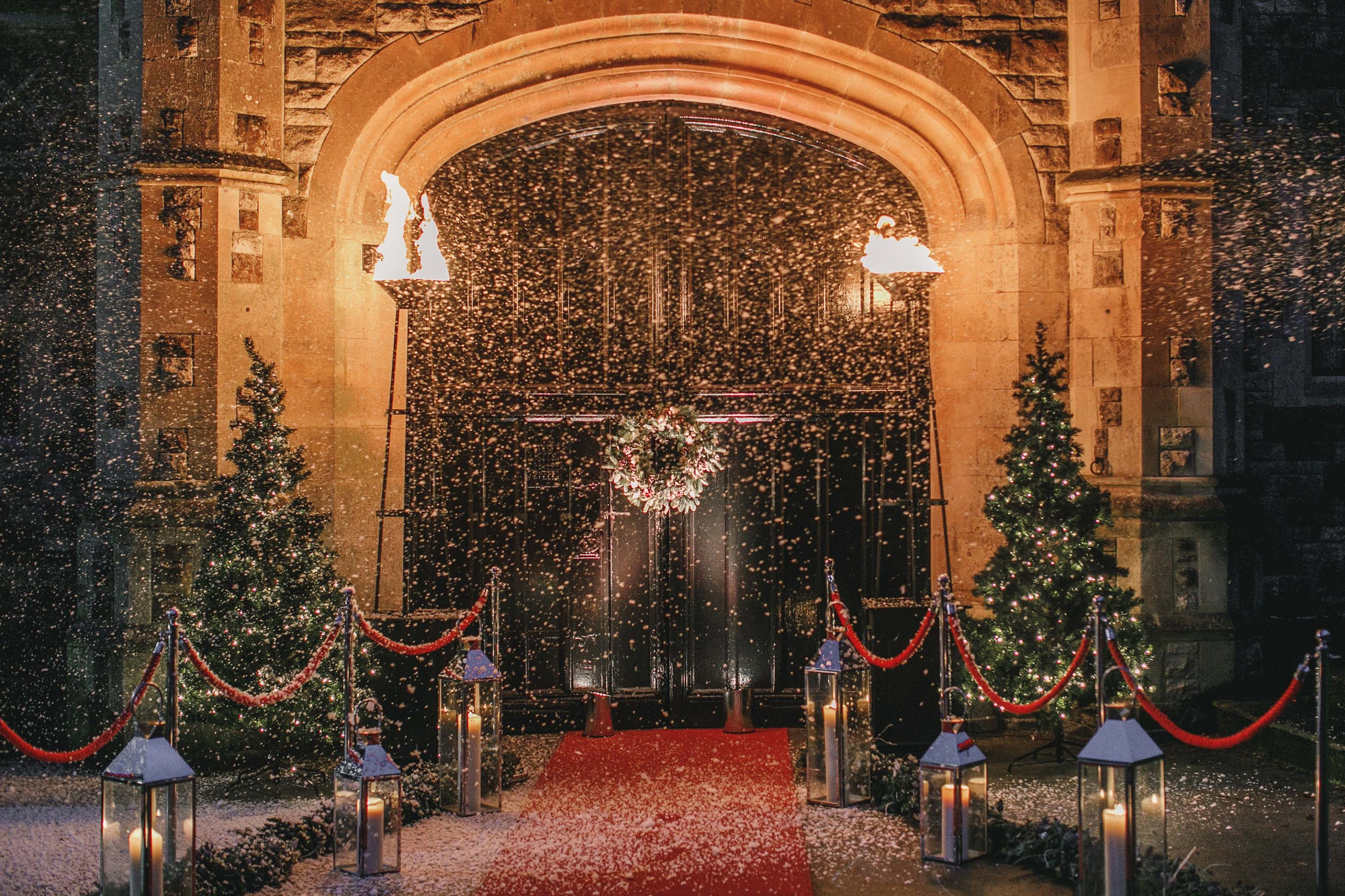 Christmas entrance Clownfish events