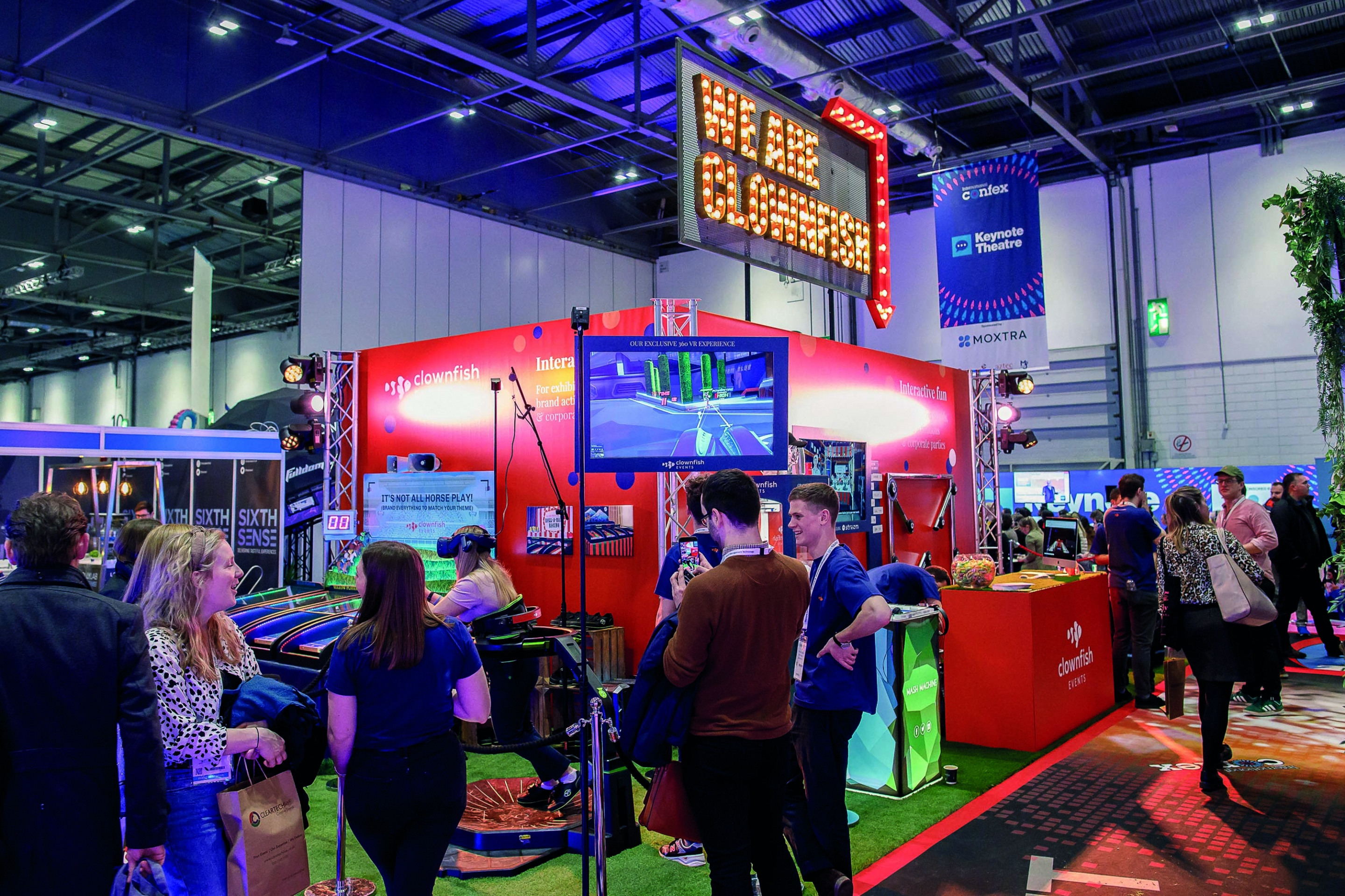 Confex exhibition stand