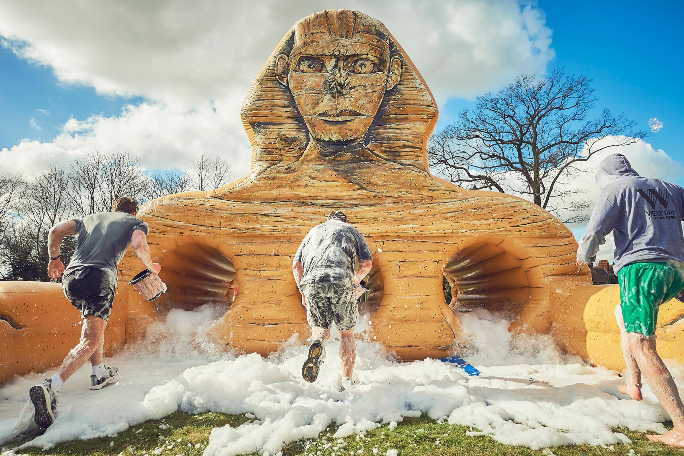 Inflatable Egyptian Sphinx