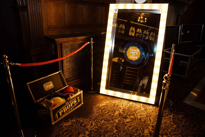 Rhinefield Mirror Booth