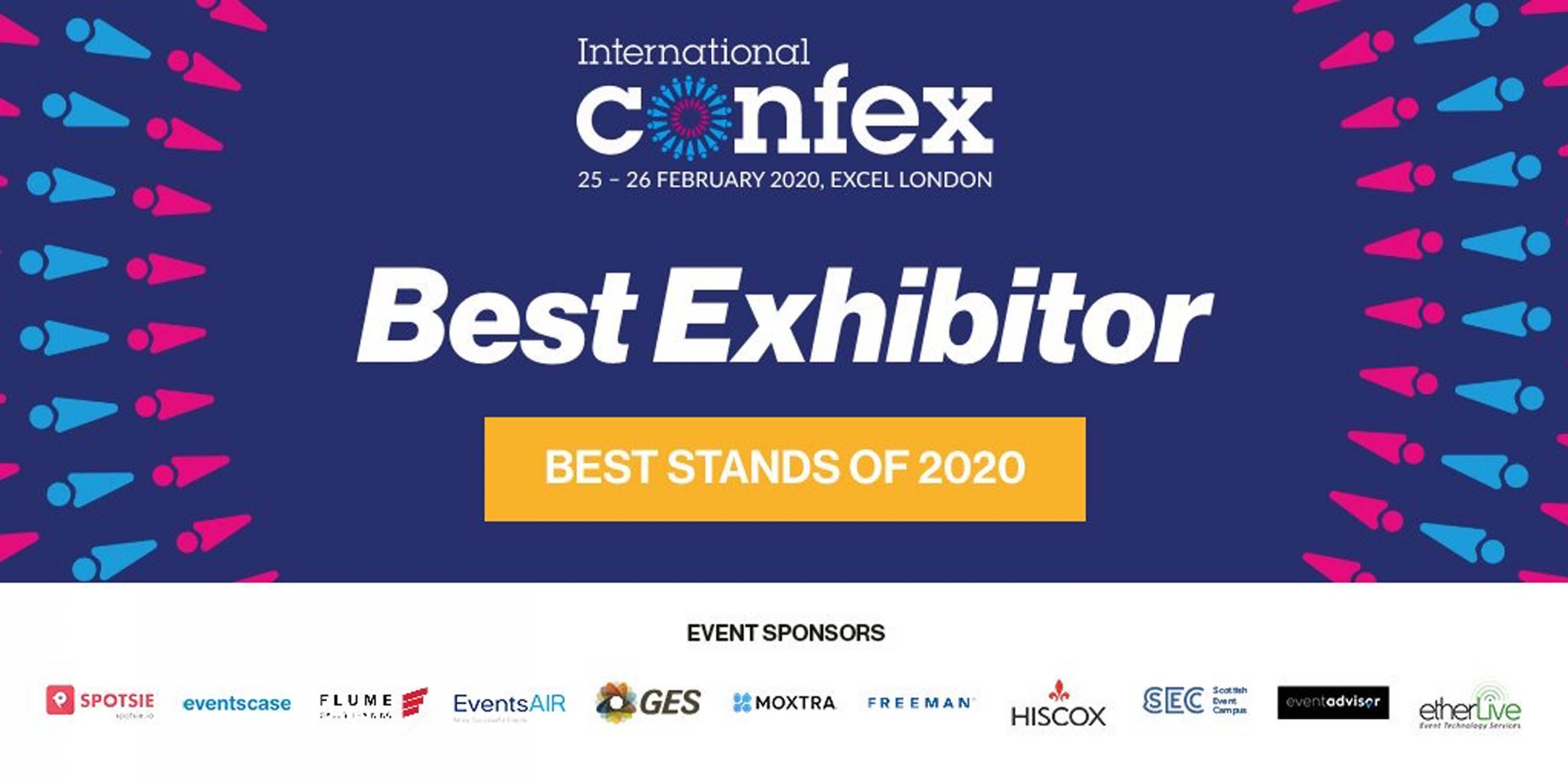 best exhibitor confex clownfish events
