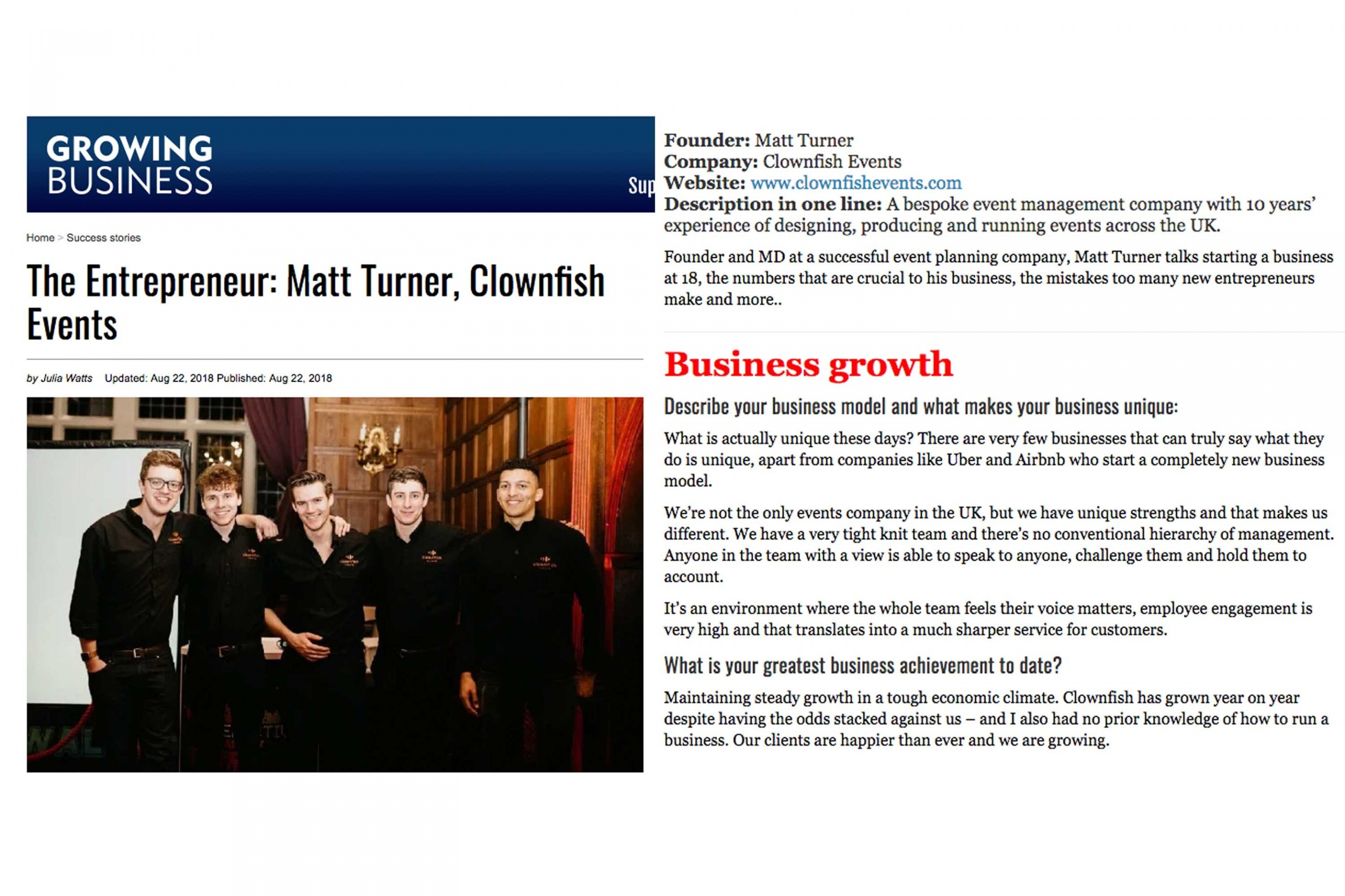 Growing Business 1