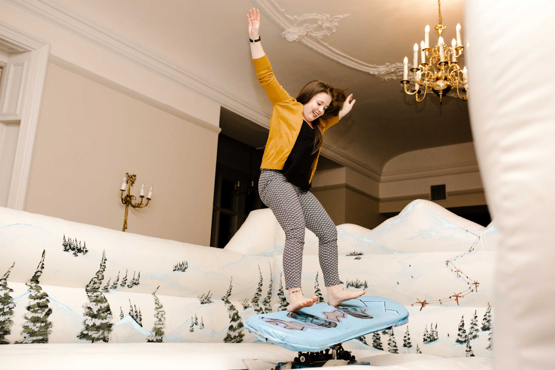 Rhinfield Snowboard Simulator