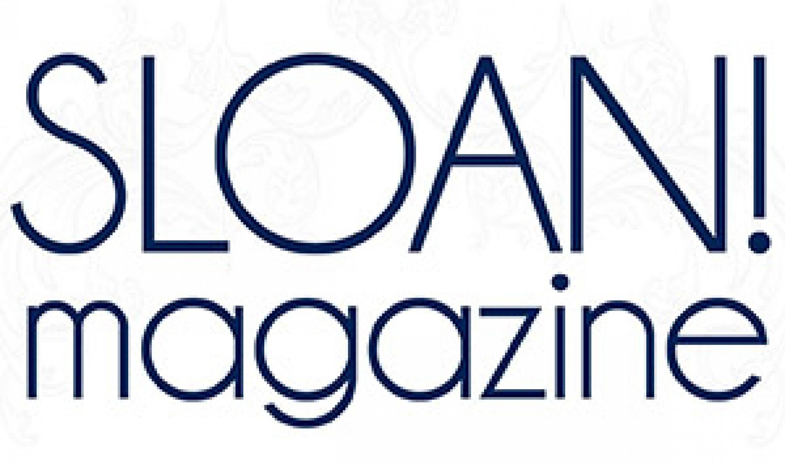SLOAN magazine Logo1