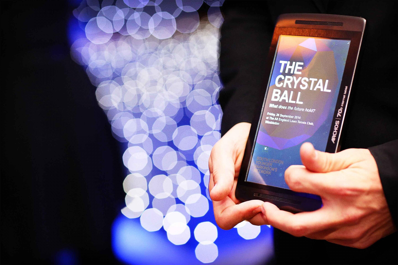 Crystal Ball_Silent Auction Tablet