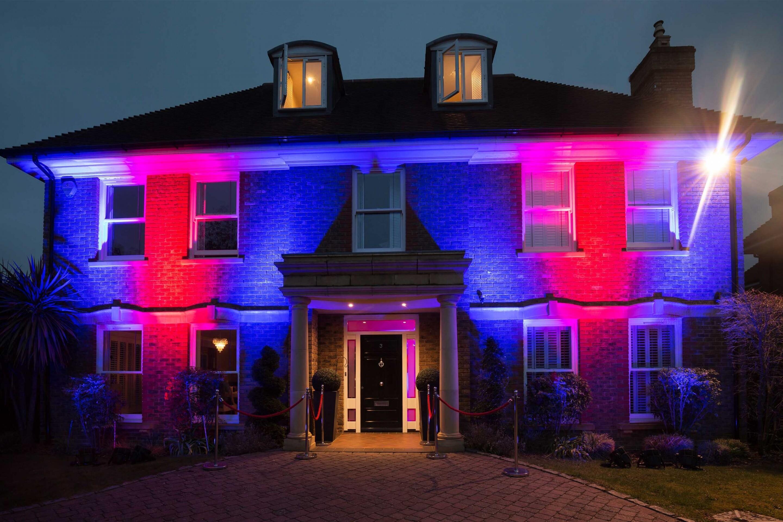 Tom's 18th House lighting