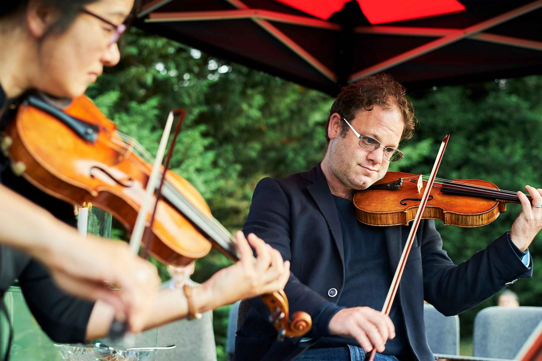 Shinnyo Festival_Violin Players