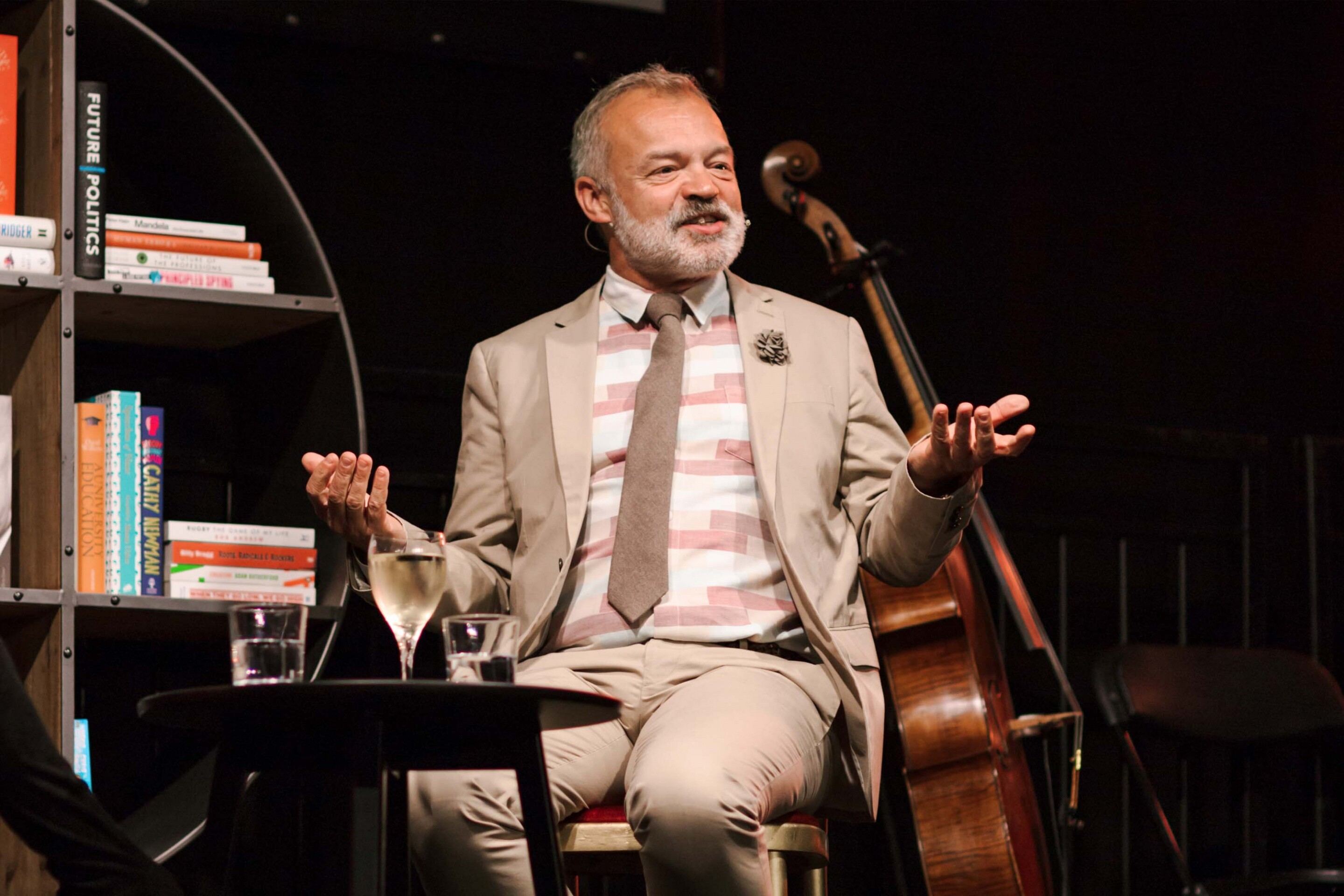 Wimbledon Bookfest Graham Norton