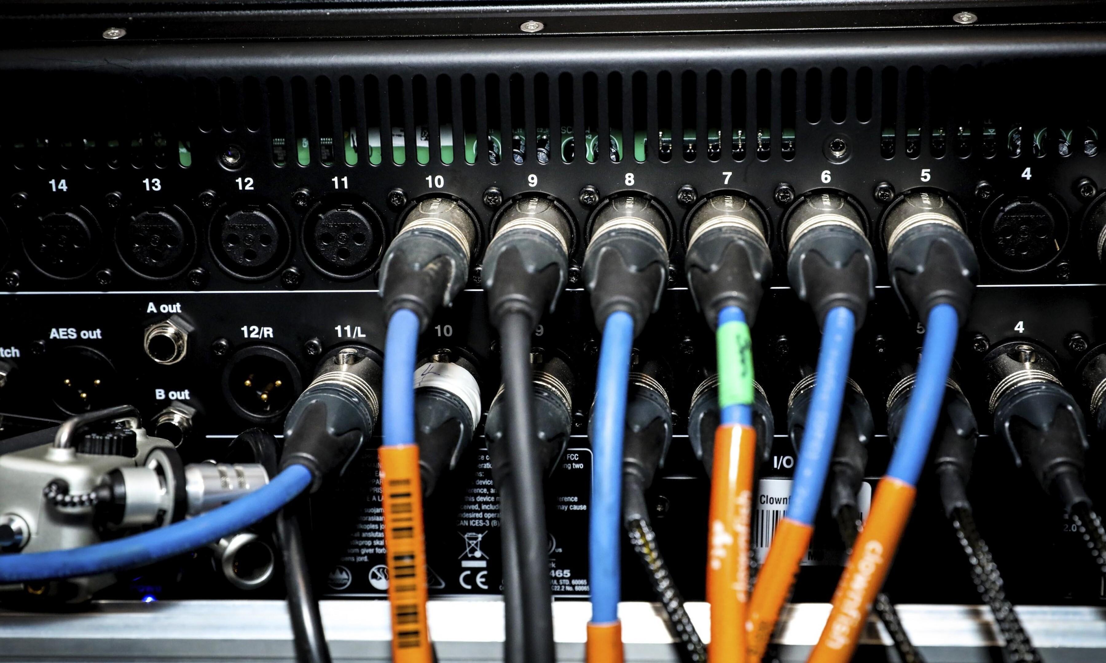 AV event equipment 12