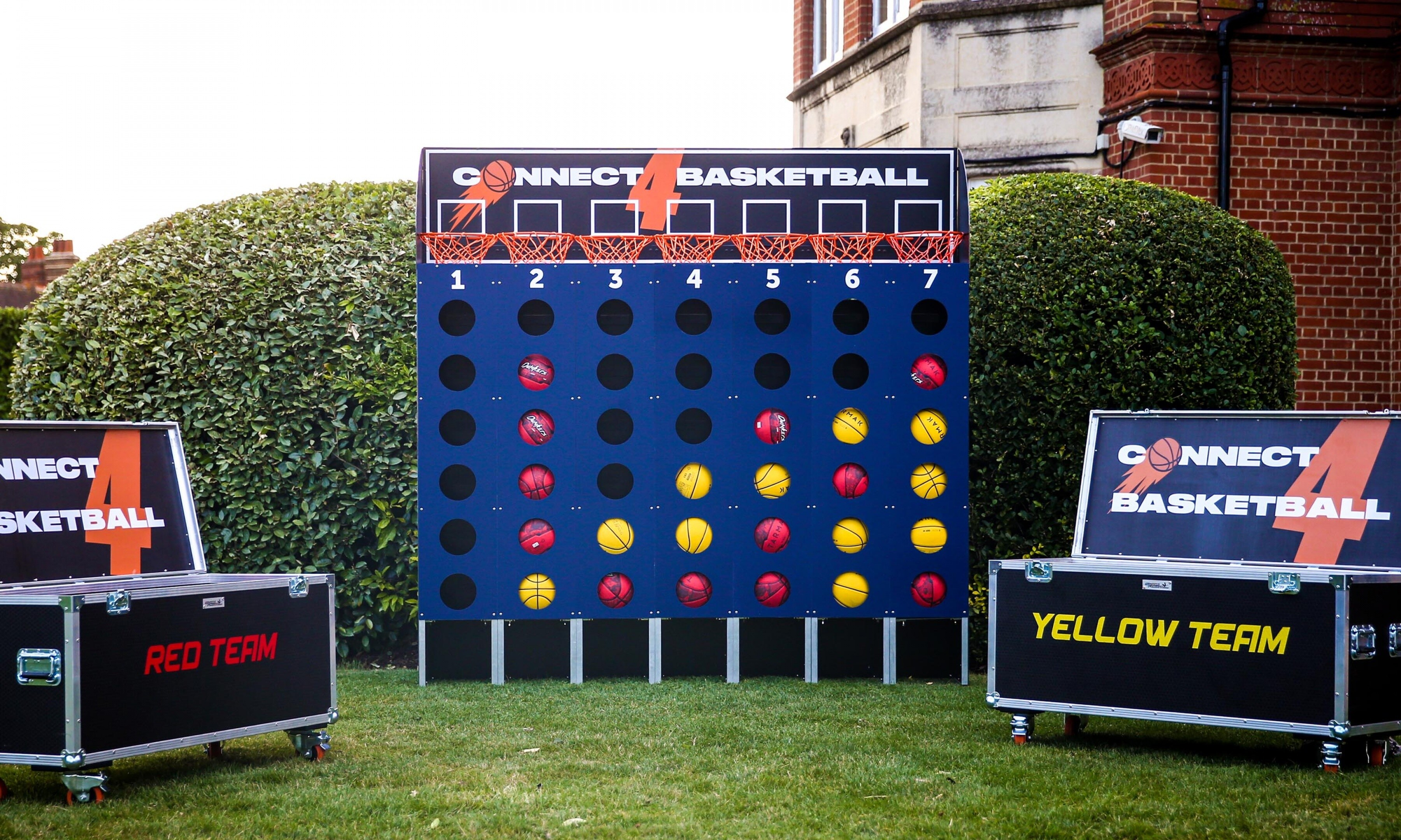 Basketball Connect 4 Hire London Surrey Clownfish Events Woodlands