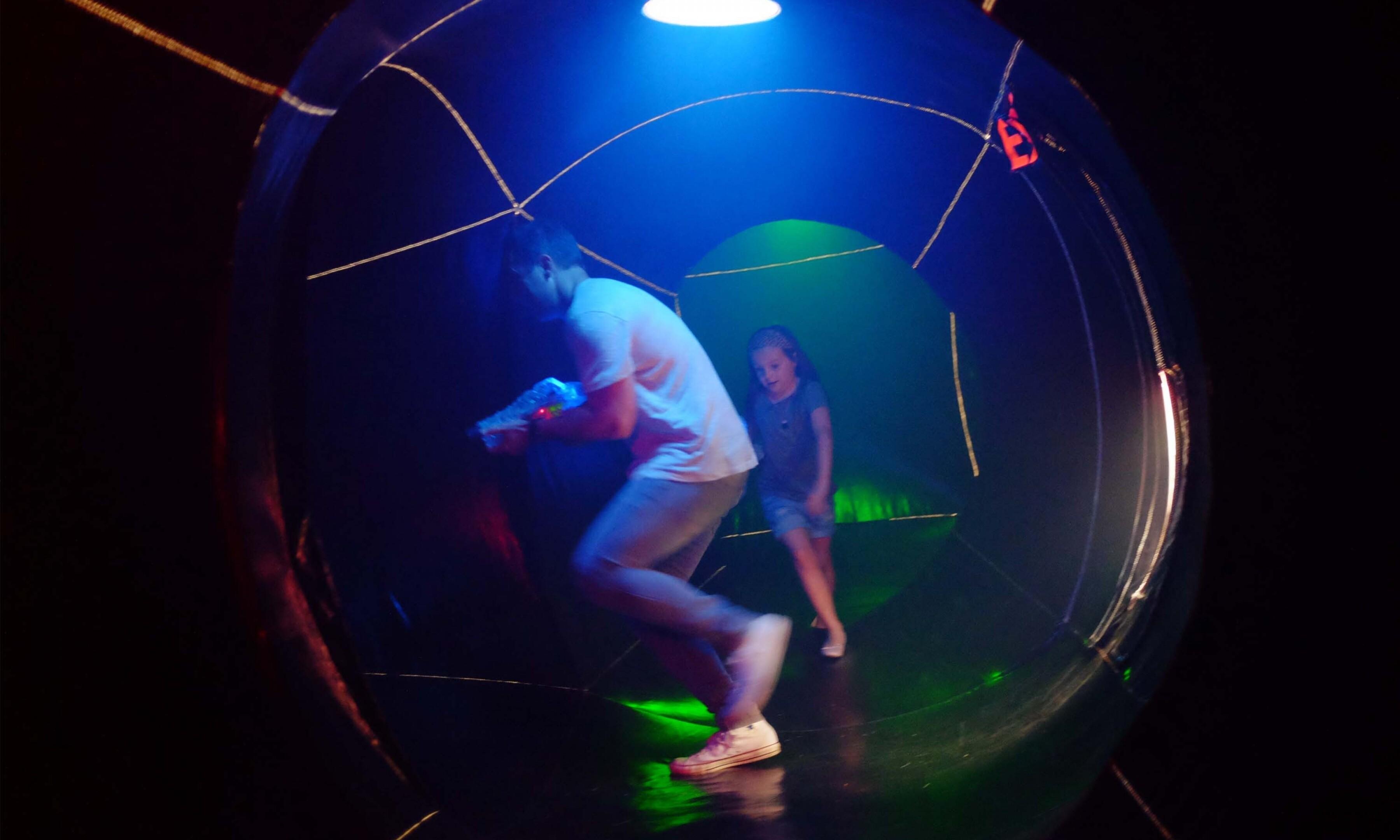 Laser tag inside 2