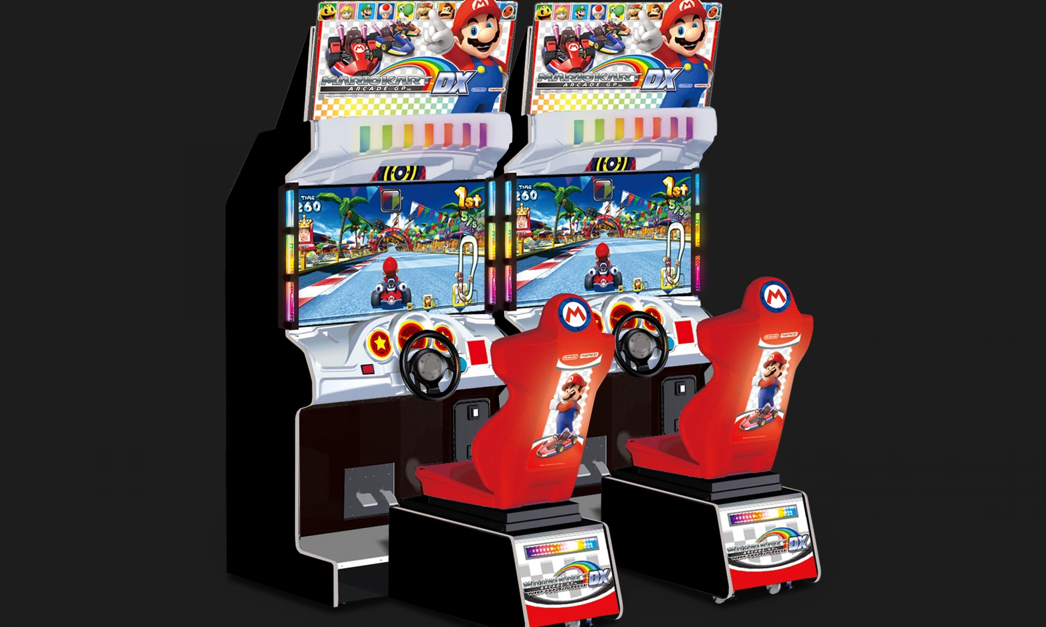 Mario Kart Racing one