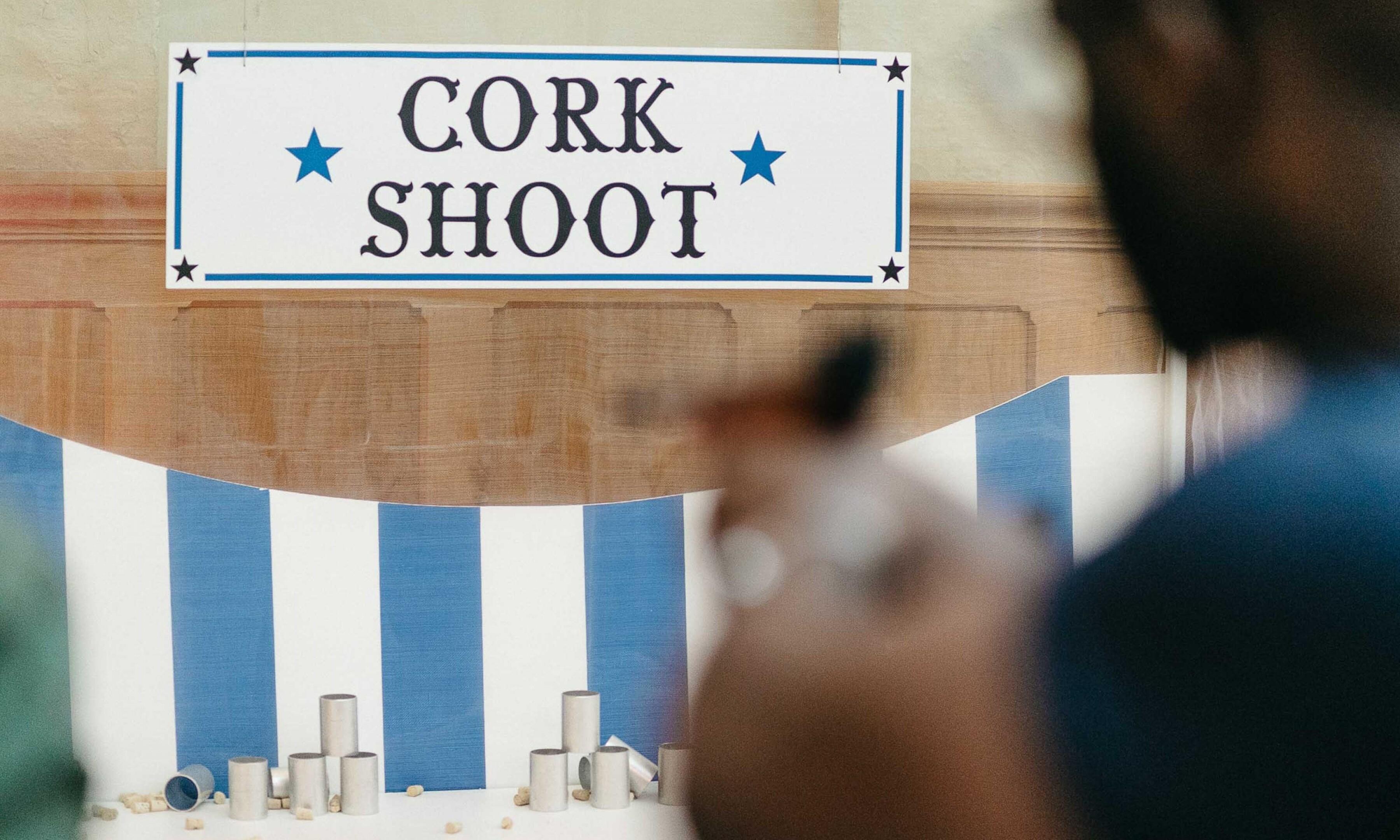 Saffery cork shoot