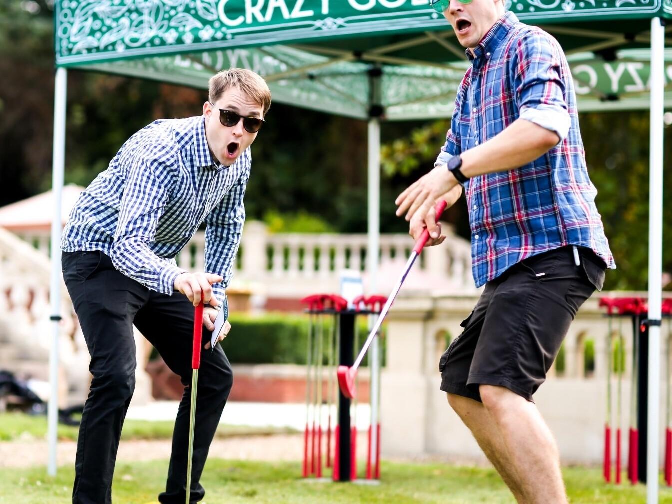 Crazy Golf AB AT Celebrations Fetcham