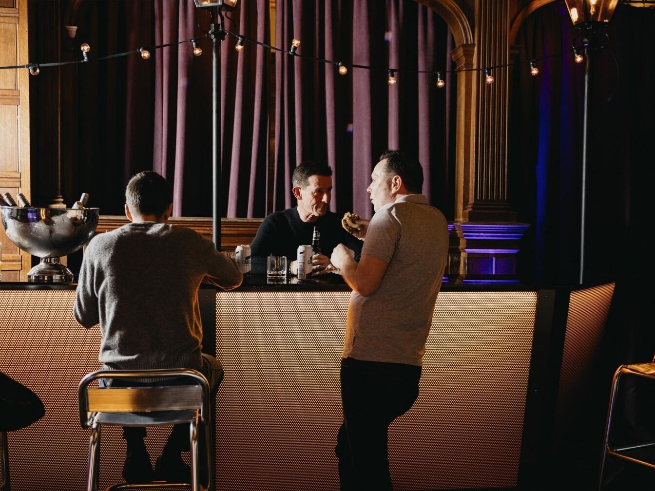 Illuminated bar Rhinefield House Jeff