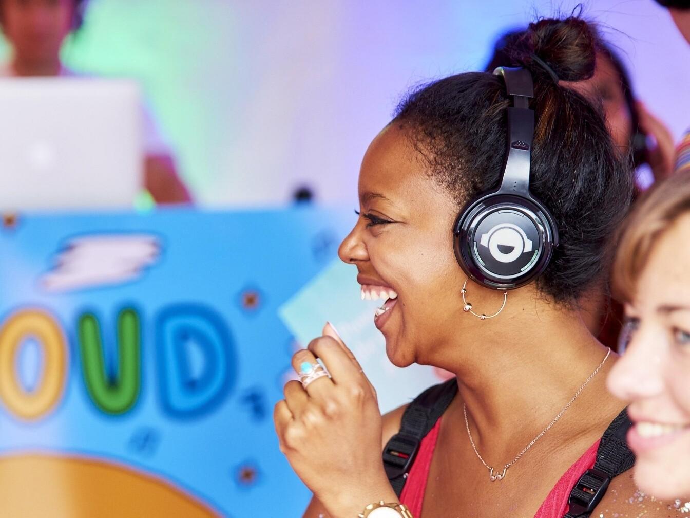 Silent Disco Wireless Headphones Hire