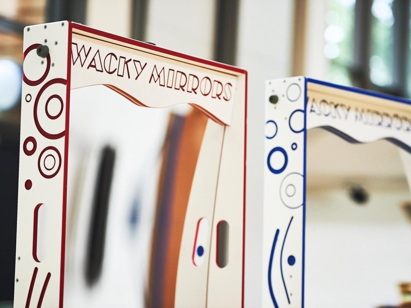 Wacky Mirrors Event Hire