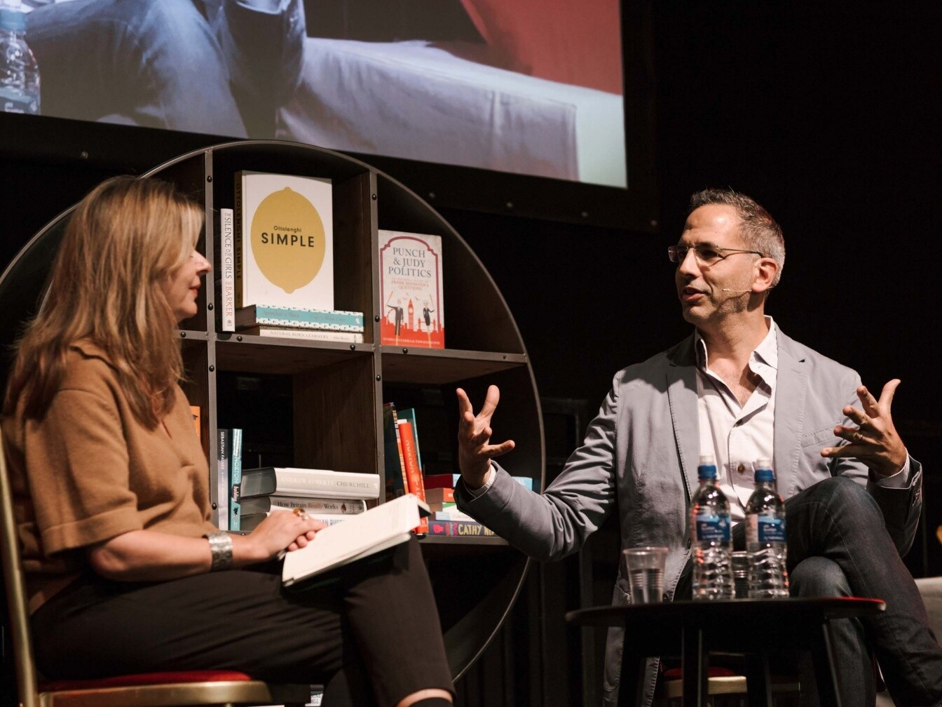 Wimbledon Bookfest interview 2