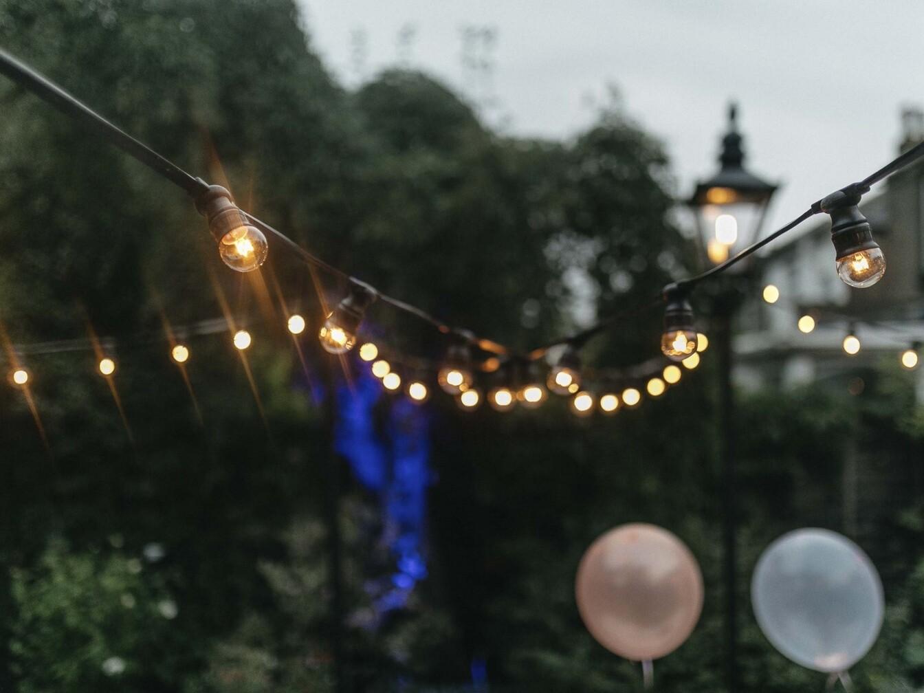 garden festoon lighting