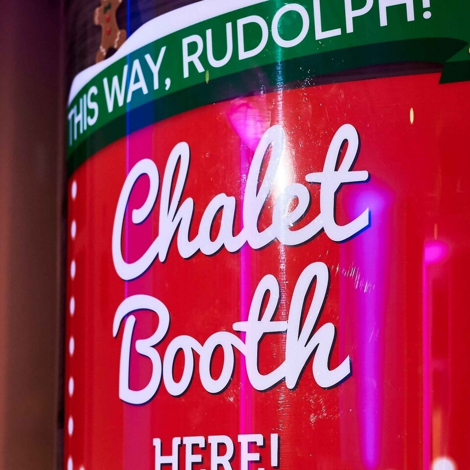 Chalet Booth