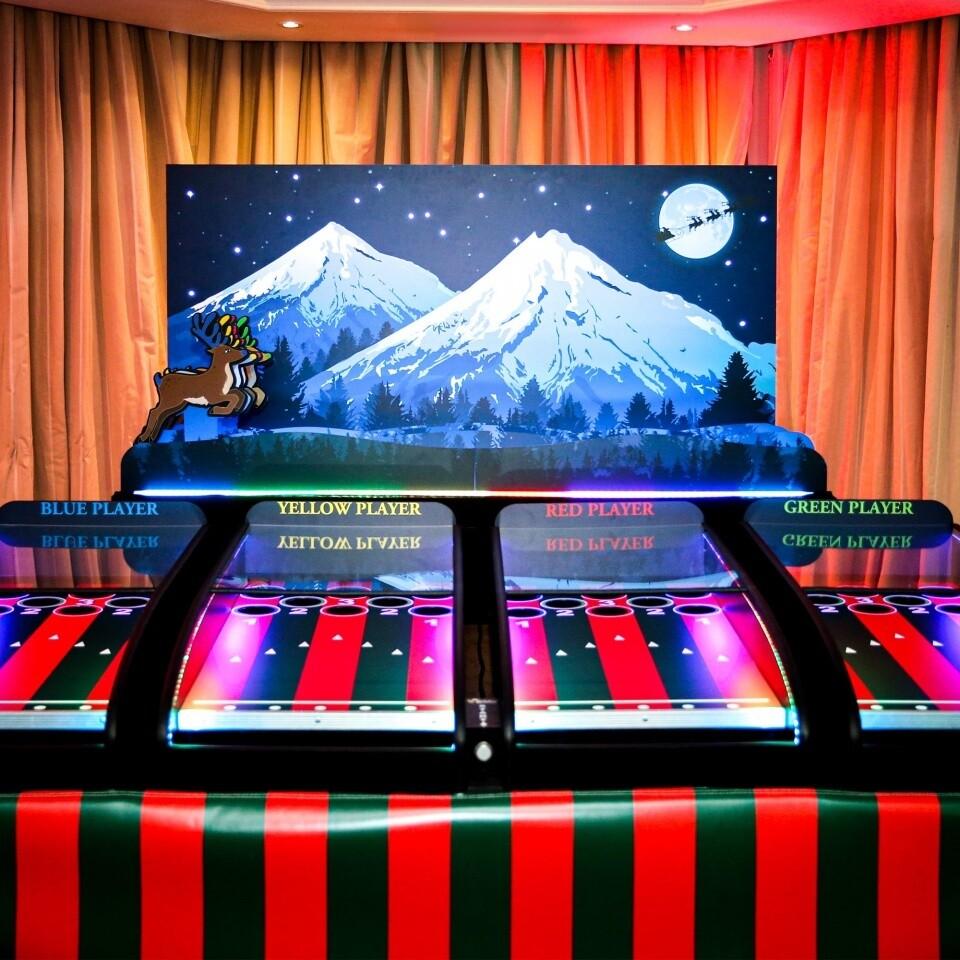 Clownfish Events Christmas Roll a Ball Reindeer Woodlands