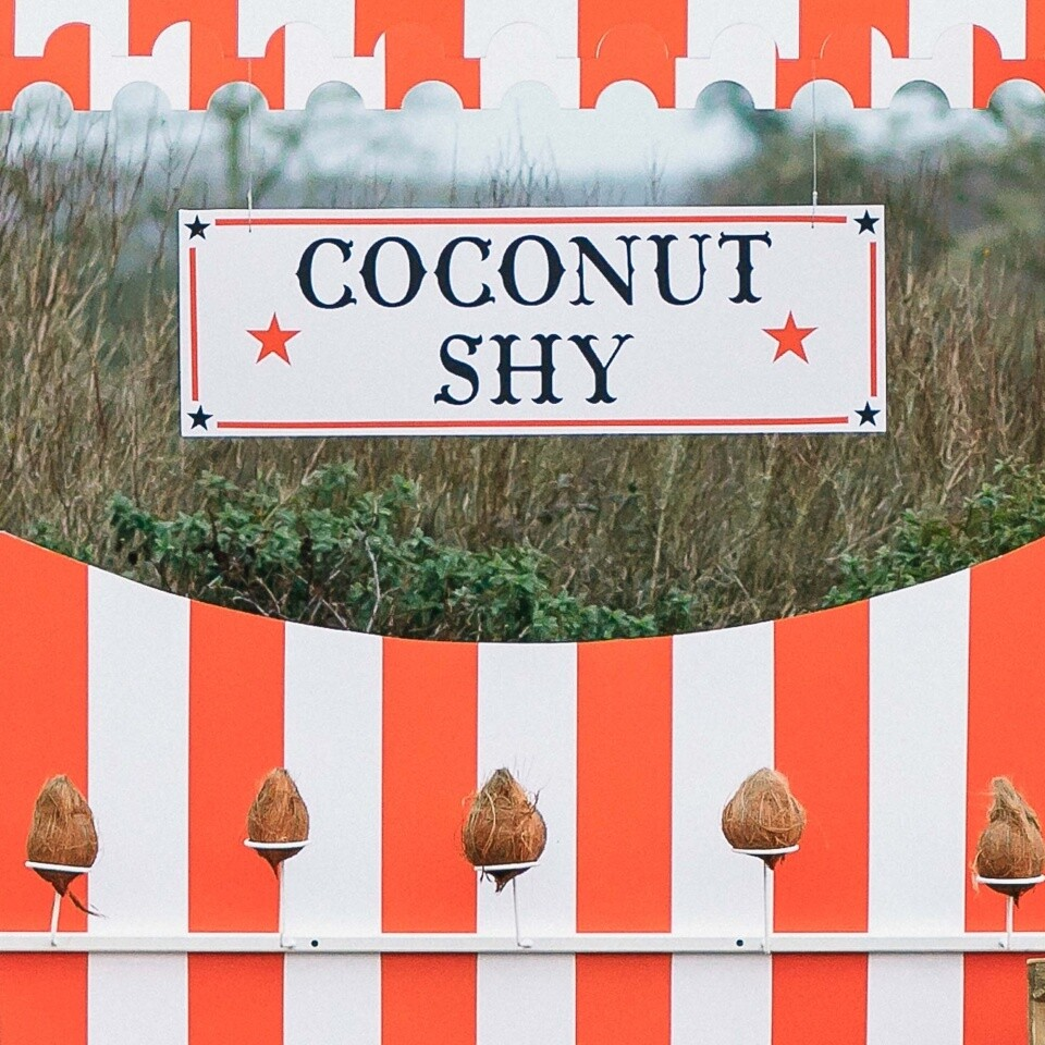 Coconut Shy Side Stall