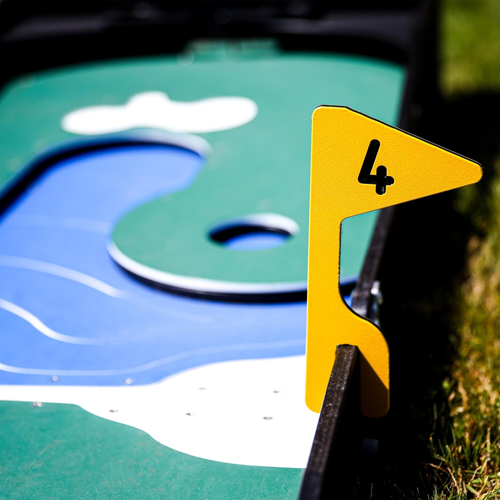 Crazy Golf Hire Hole 4 Fetcham