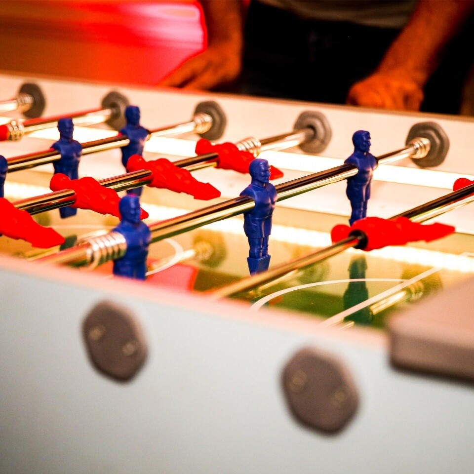 LED Table Footbal Arcade Party Ideas Woodlands