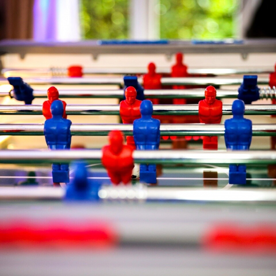 LED Table Football Indoor Games Party Ideas Woodlands