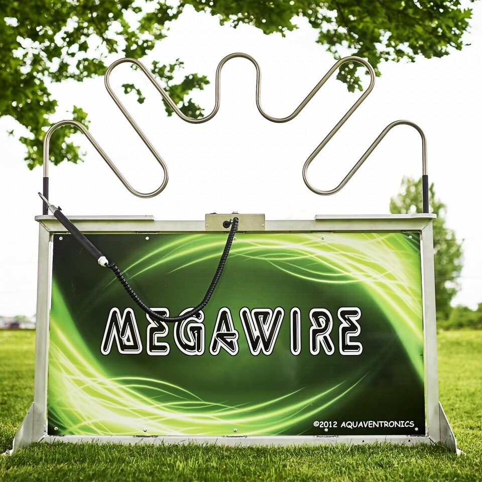 Megawire Buzzwire Hire Outdoor Garden Games