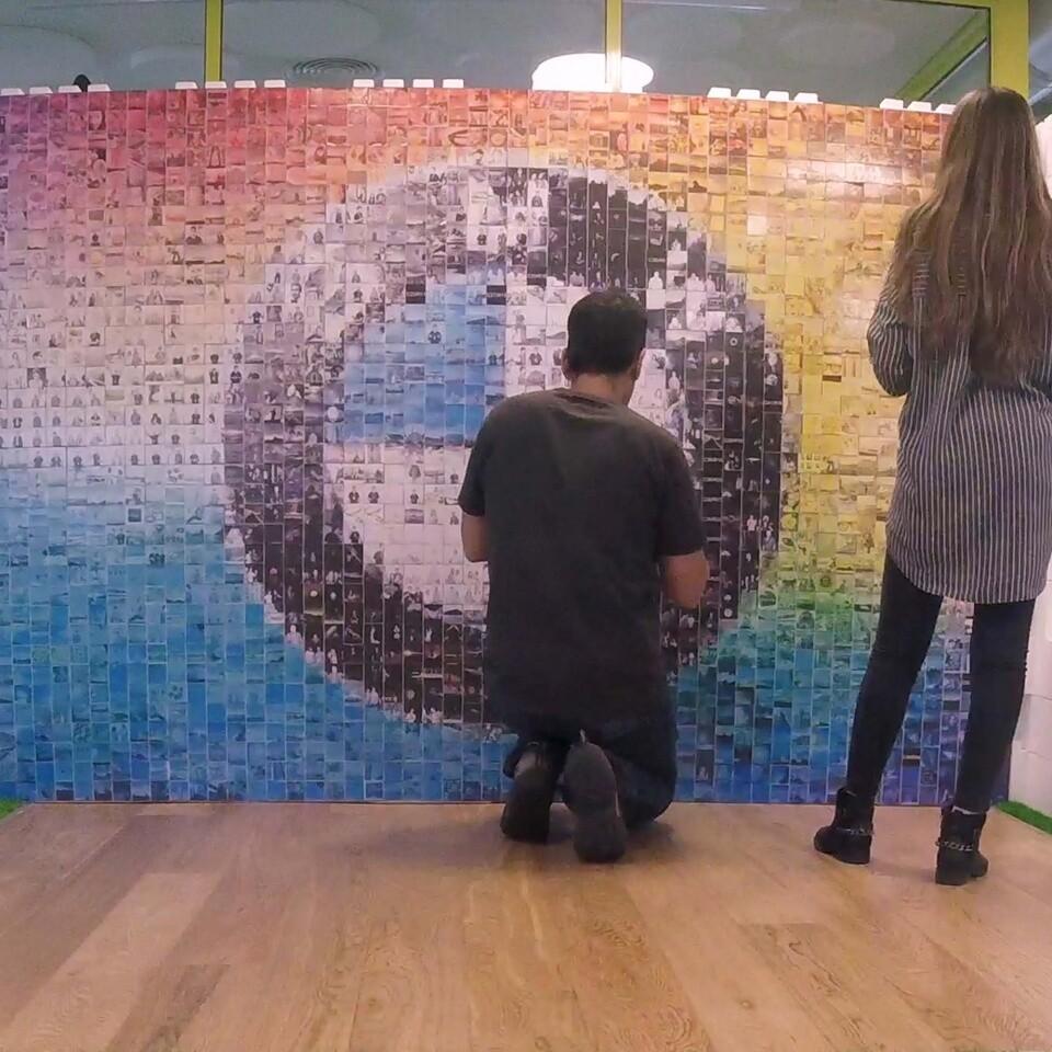 Mosaic Wall 1