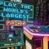 Worlds Largest Pacman Retro Arcade Games Hire