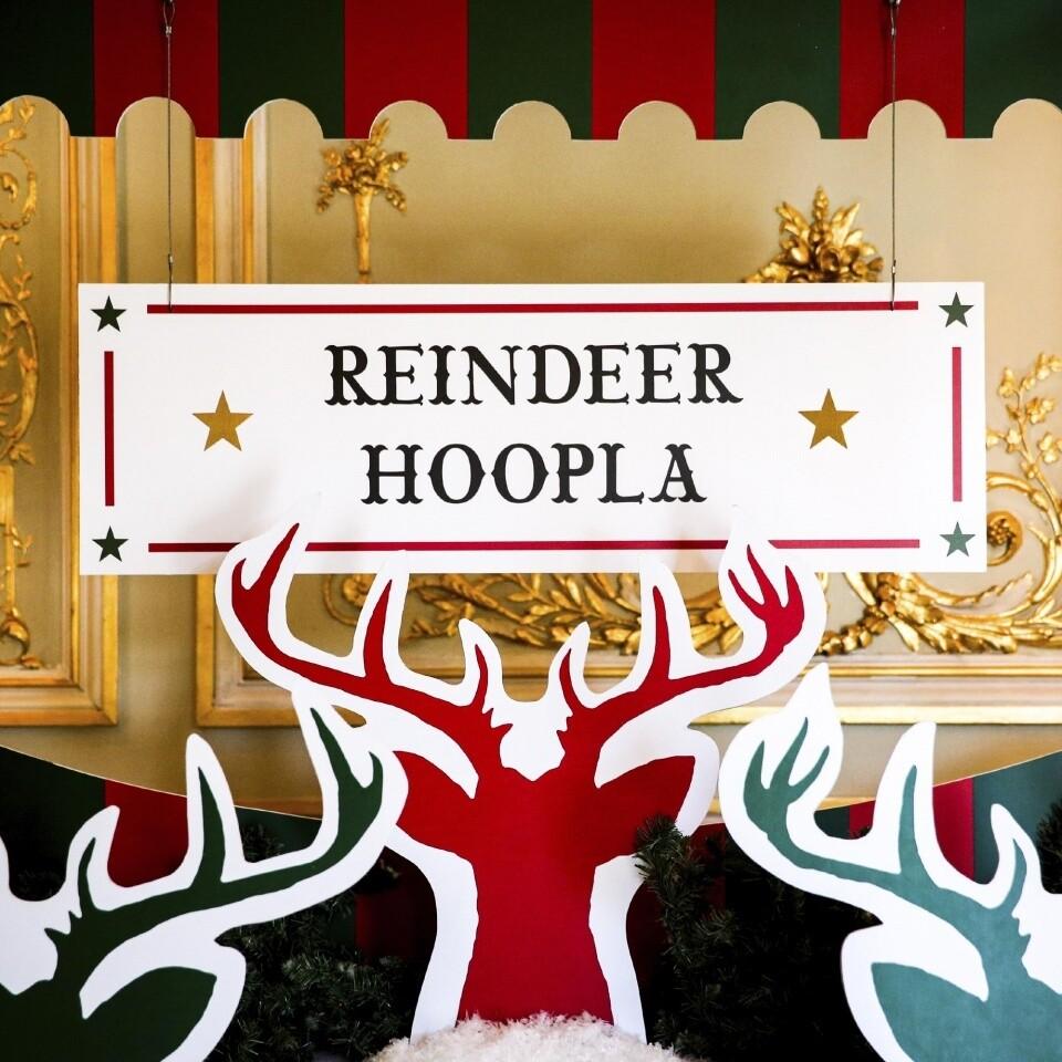 Reindeer Hoopla Party Ideas Christmas London Fetcham