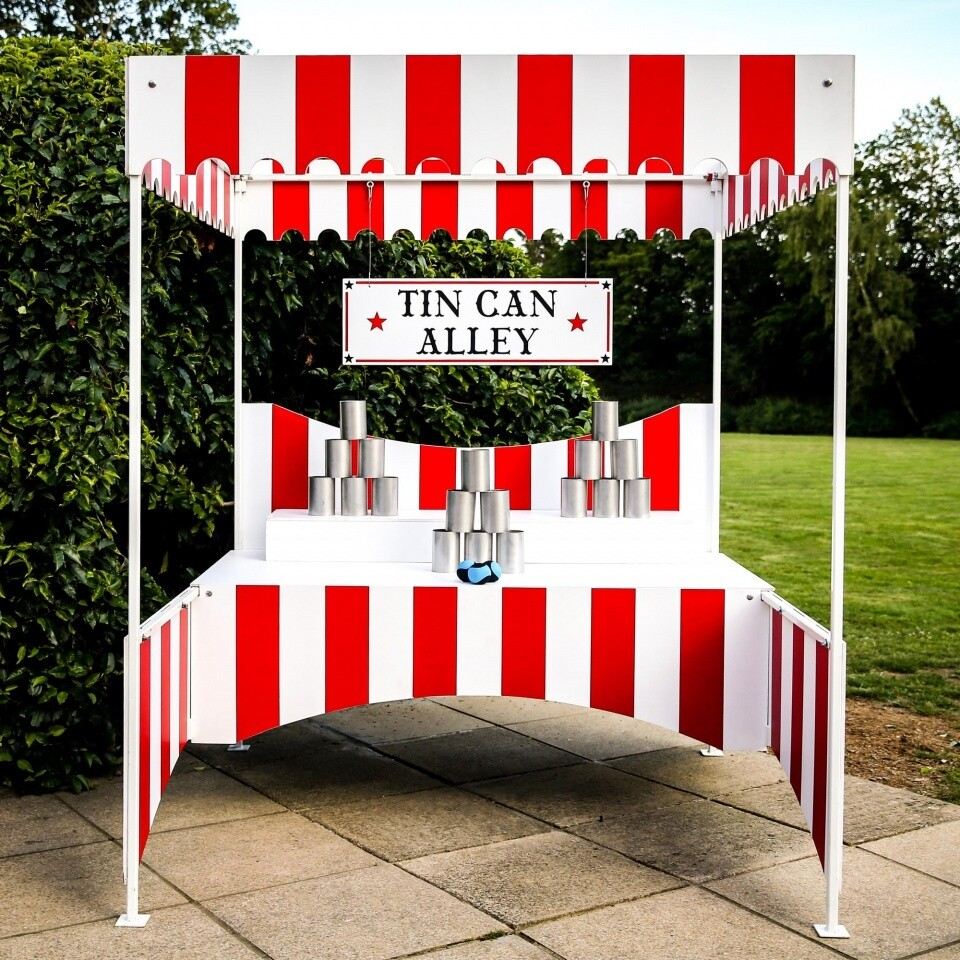 Tin Can Alley Sidestalls Hire Outdoor Games London Surrey Woodlands