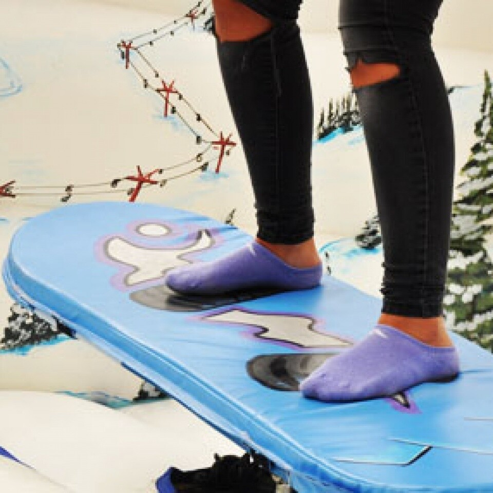 Snowboard Simulator Hire