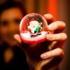 Christmas Mash Machine Santa Snowglobe SS Woodlands