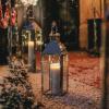 Christmas entrance lantern candle
