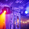 Debbie 50th case study lights truss