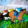 Roll a Ball Derby Horse Racing Game Character Corporate Party Hire London Surrey Woodlands