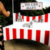 Tin can alley Hire London Surrey Outdoor Games Woodlands