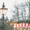 Victorian lamppost festoon lighting
