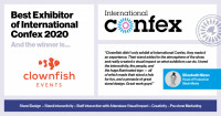 Best Exhibitor of International Confex 2020 linkedIn2
