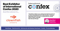 Best Exhibitor of International Confex 2020 linkedIn4