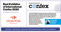 Best Exhibitor of International Confex 2020 linkedIn5