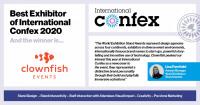 Best Exhibitor of International Confex 2020 linkedIn5