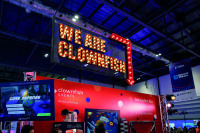 Confex clownfish stand