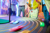 Stephen and Debbie\'s 50th_Giant Scalextric