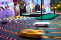 Stephen and Debbie\'s 50th_Giant Scalextric 2