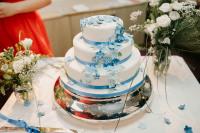 Hannah & Phil Wedding cake
