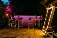 Jonny Edited Illuminated Drinks Bar LED Bar Hire Charlottes Hen Do